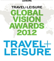 GLOBAL VISION AWARD - TRAVEL + LEISURE - Novembro 2012